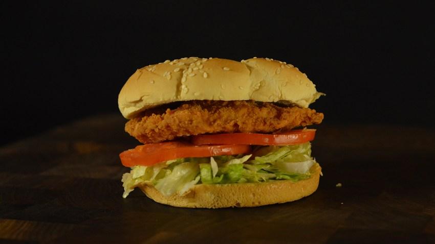 Chicken Fried Chicken Sandwich