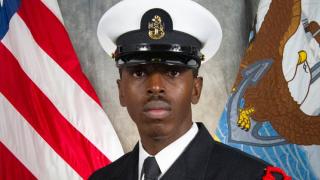 Chief Fire Controlman Derek Webb