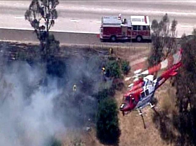 Tierrasanta Chopper-fire