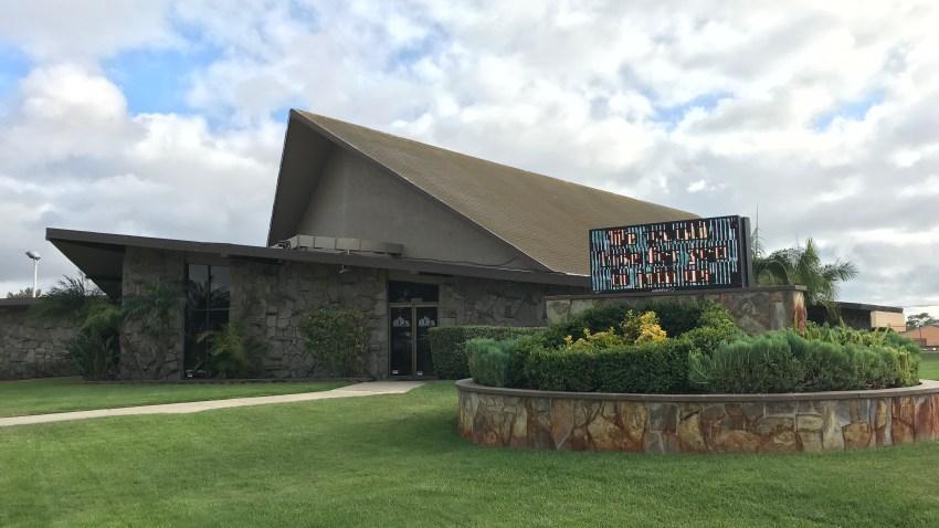 Exterior of Hilltop Tabernacle Church in Chula Vista