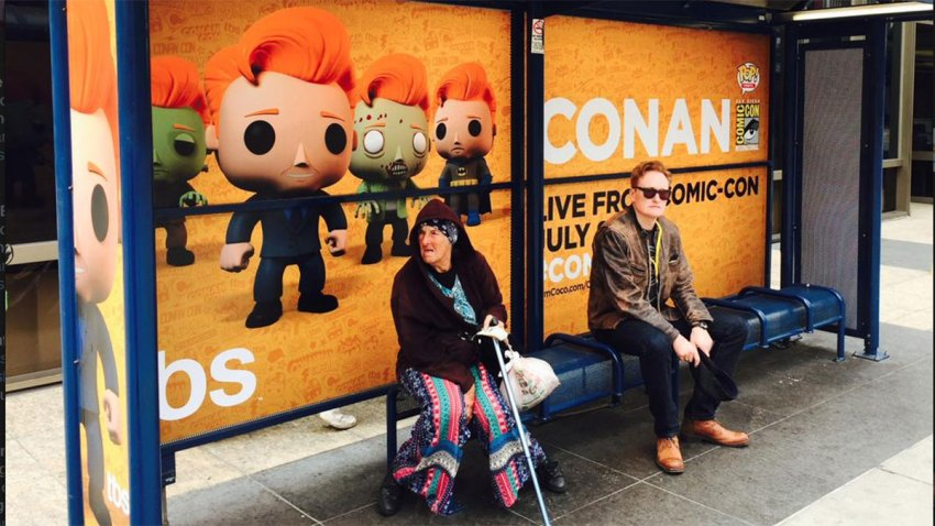 Conan-Comic-Con-bus-stop