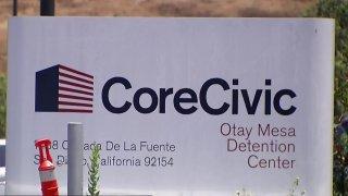 CoreCivic Otay Mesa Detention Center Telemundo 20