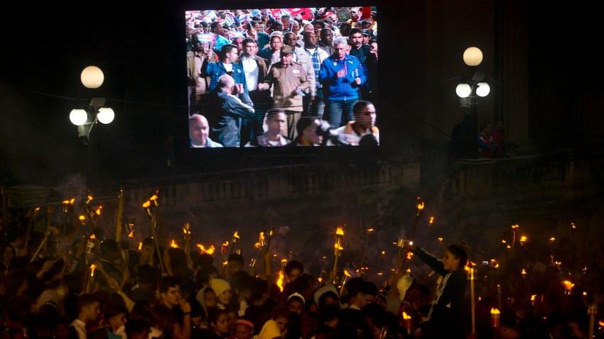 Cuba Torch Parades