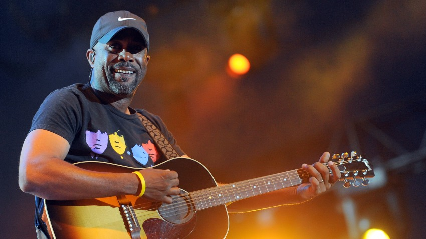 In this April 30, 2011, file photo, musician Darius Rucker performs onstage during 2011 Stagecoach: California's Country Music Festival at the Empire Polo Club in Indio, California.