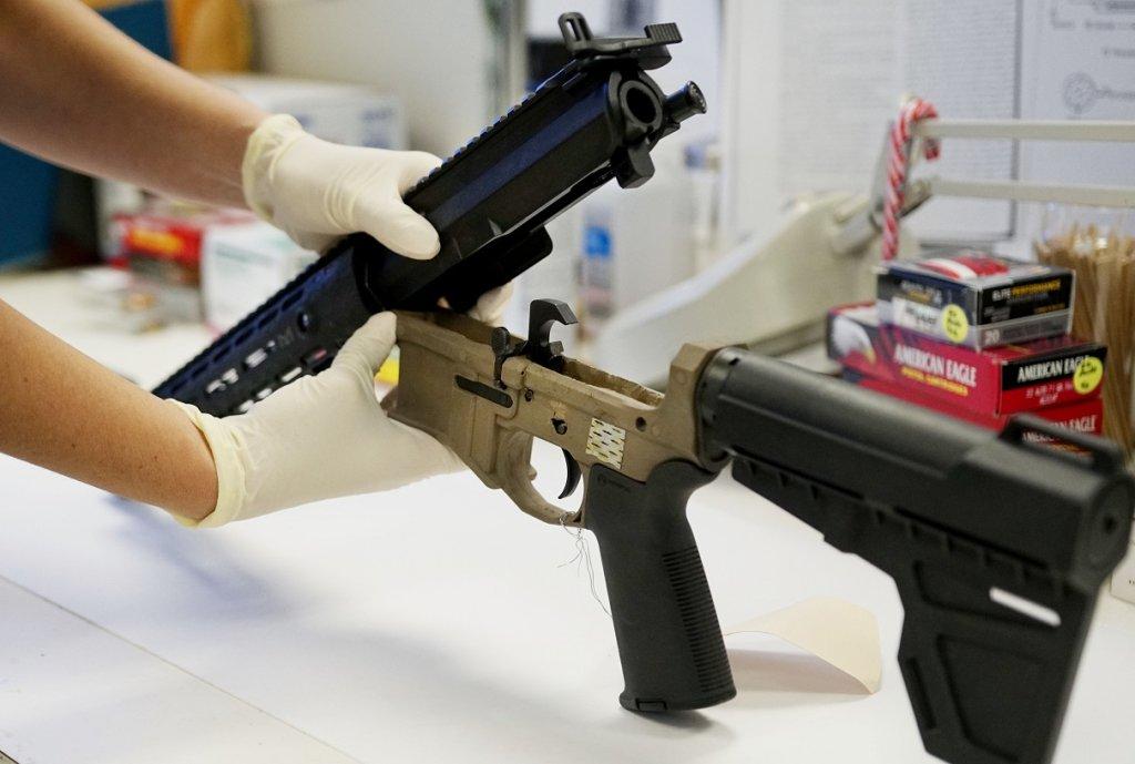Ghost Gun Used by Joseph Darwish