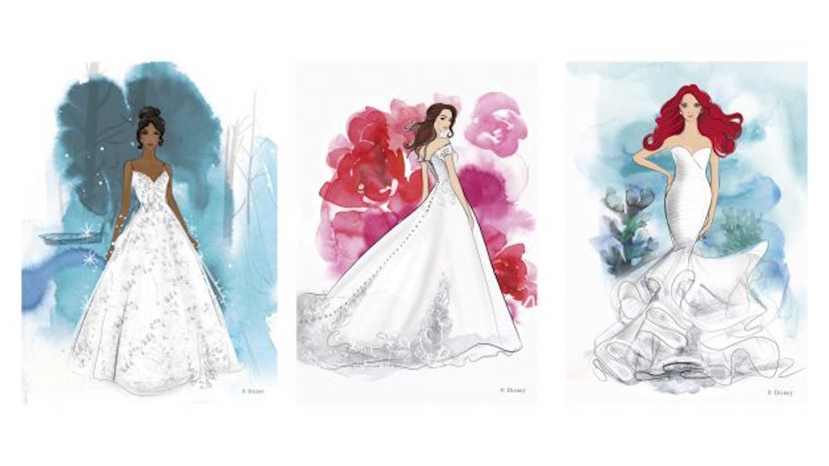 Disney Princess Wedding Gowns Are Coming To A Bridal Boutique Near