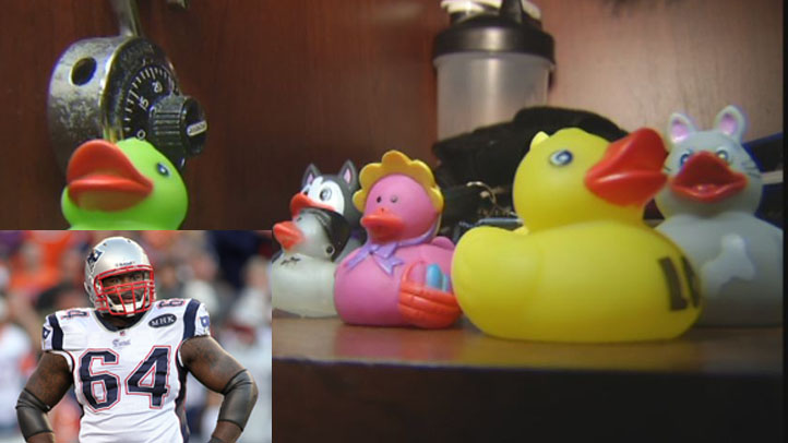 Donald Thomas Rubber Ducks with photo