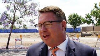 A photo of of El Cajon Mayor Bill Wells from May, 2017.