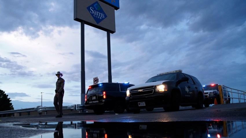APTOPIX Texas Mall Shooting