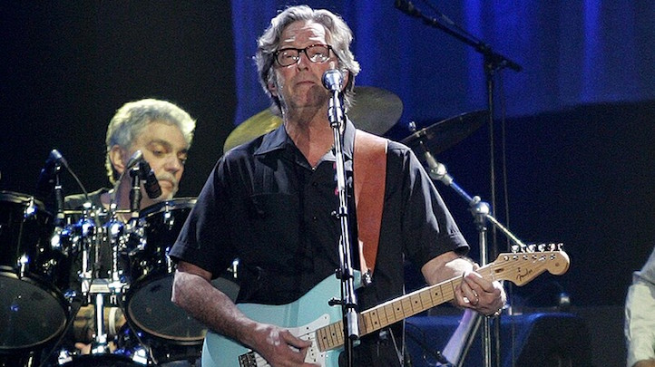 Eric Clapton by Paul Parks