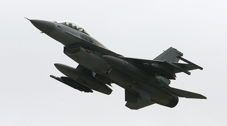 File photo of an F-16