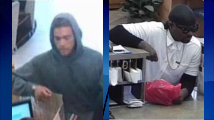 FBI Bank Robbery Suspects
