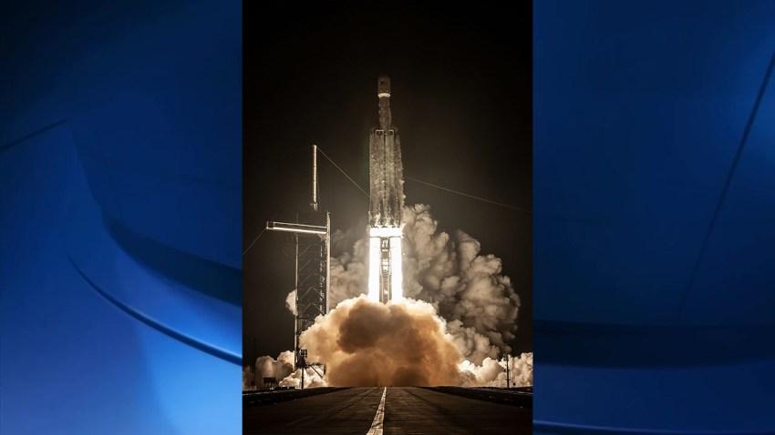 The Falcon Heavy ricket