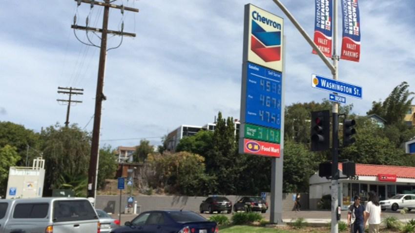 Gas prices Washington Street