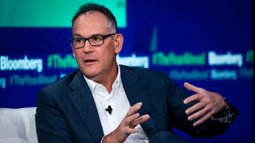 David Simon, chairman and chief executive officer of Simon Property Group Inc., speaks during the Bloomberg Year Ahead Summit in New York, on Nov. 7, 2019.