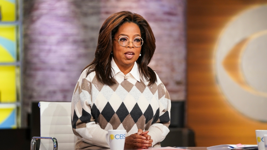 "Oprah Winfrey on ""CBS This Morning"""