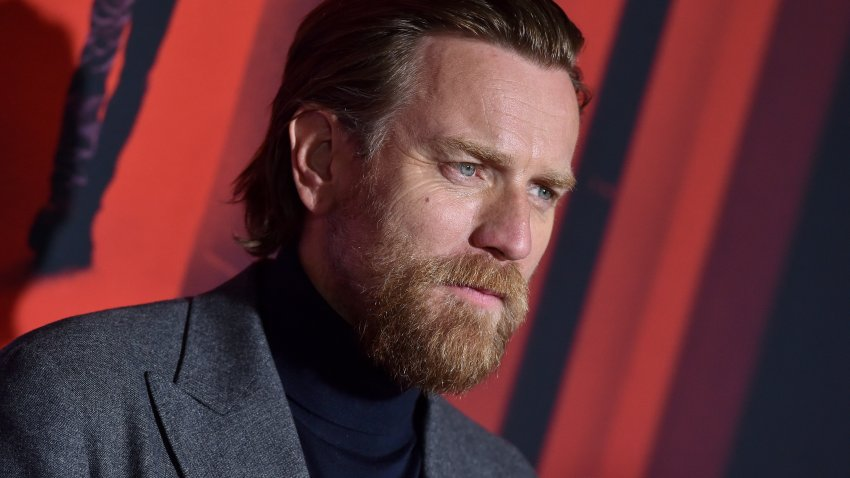 "Ewan McGregor attends the Premiere of Warner Bros Pictures' ""Doctor Sleep"" on Oct. 29, 2019, in Los Angeles."