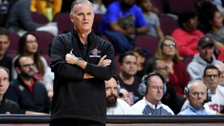 Brian Dutcher SDSU Basketball head coach