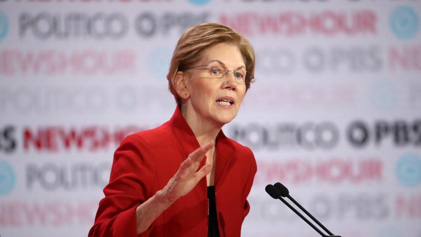 Democratic Presidential Candidate Elizabeth Warren