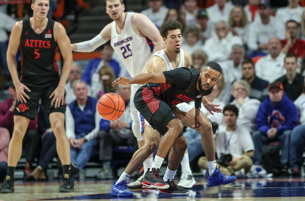 Aztecs Stay Perfect! San Diego State Basketball Beats Boise State Pushing Record to 26-0