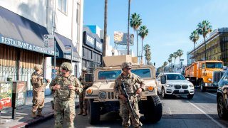 National Guard in Los Angeles