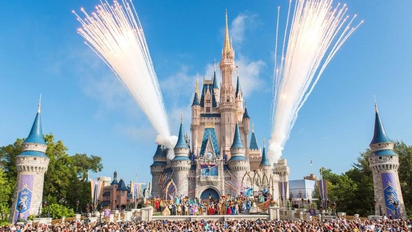 In this Oct. 1, 2016, file photo, Walt Disney World Resort marked its 45th anniversary in Lake Buena Vista, Florida.
