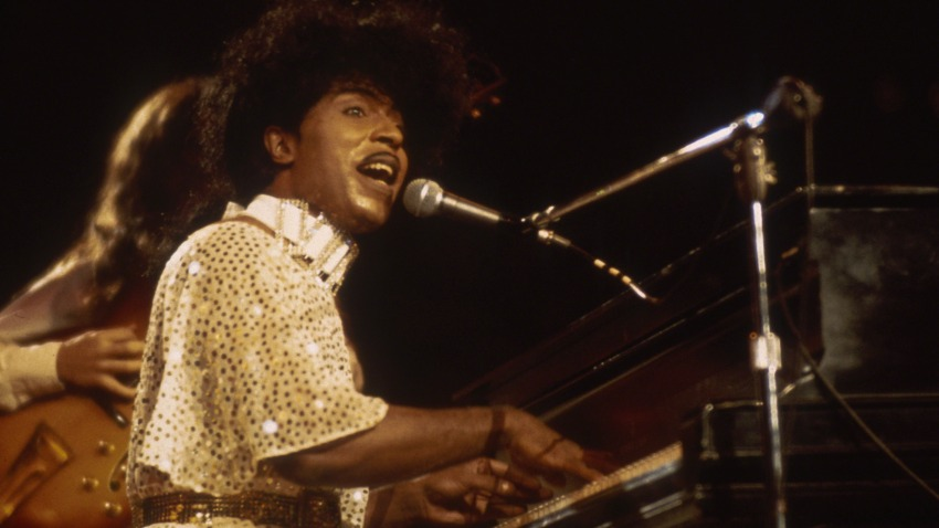 Little Richard in concert circa 1985.