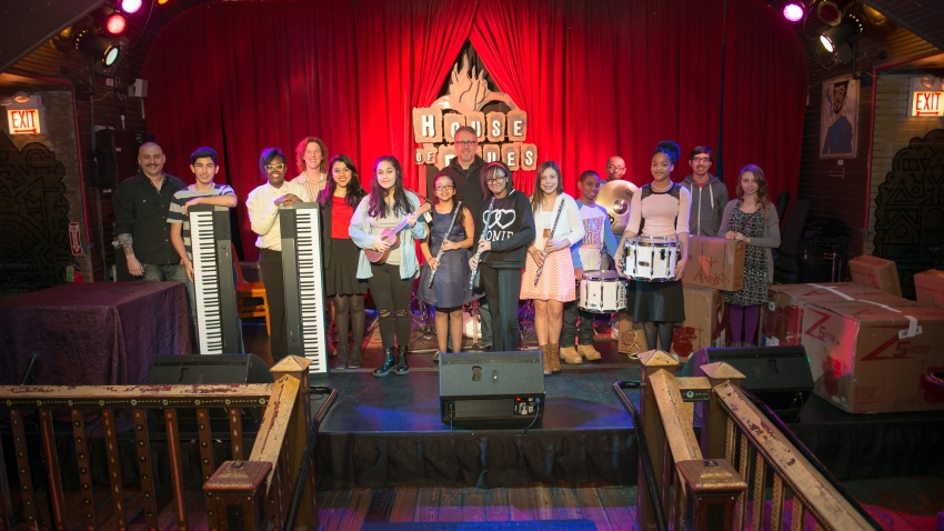 House of Blues Give Music Program
