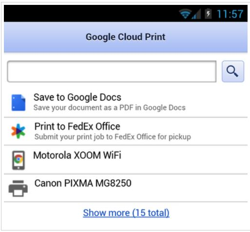 GoogleCloudPrint
