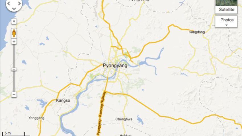 GoogleMapsNorthKorea
