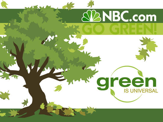 Green is Universal logo