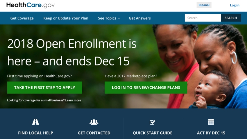 Healthcare.gov-website