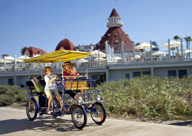 HotelDelCoronadoBike