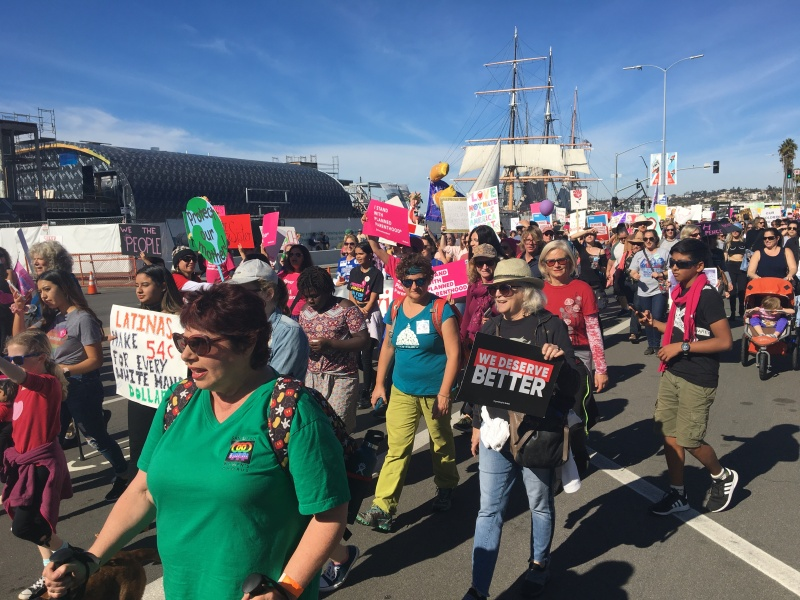 Photos: San Diego's 4th Annual Women's March