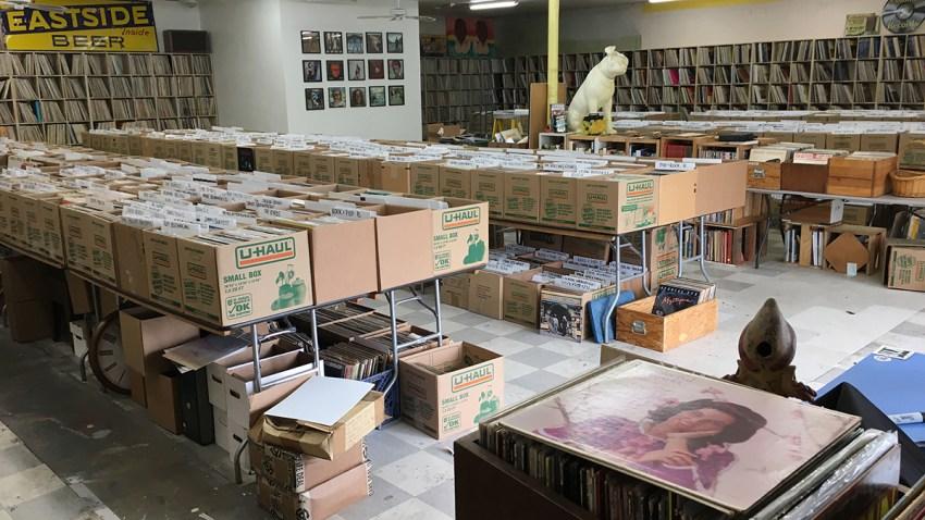 Jupiter Records and Tapes web