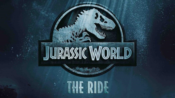 Jurassic World-The Ride at USH teaser image (with logo)