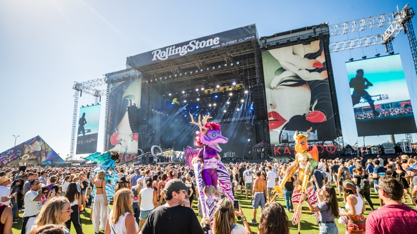 Kaaboo Rolling Stone Stage