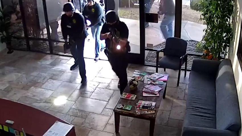 Kearny Mesa Medical Marijuan Dispensary raid