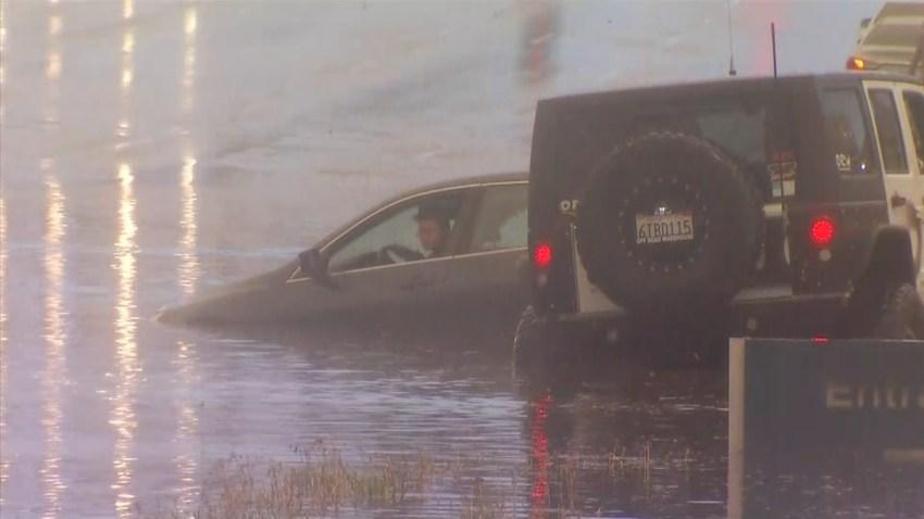 Kearny Mesa Flooding Balboa Avenue 0105 2016