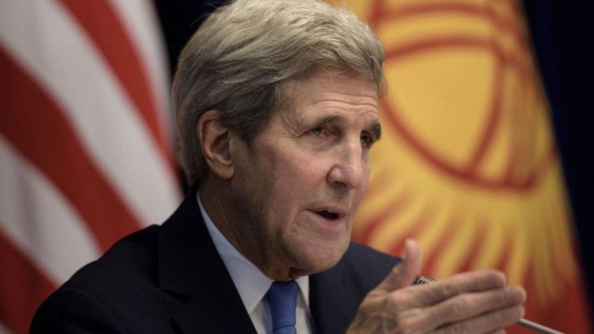 Kyrgyzstan US Kerry