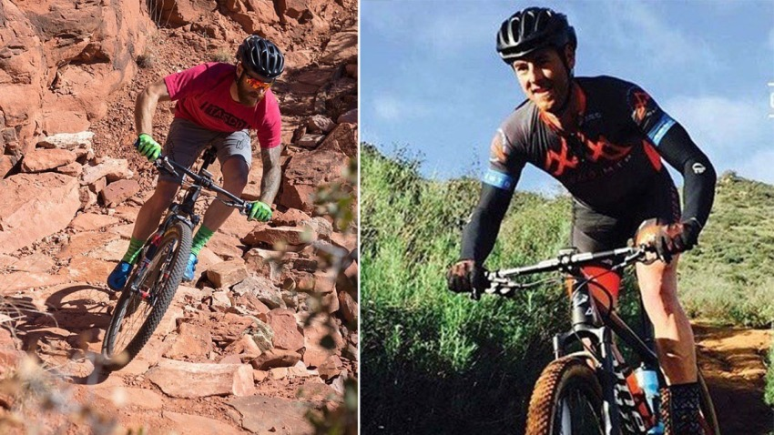 Kevin Lentz Escondido Biker split