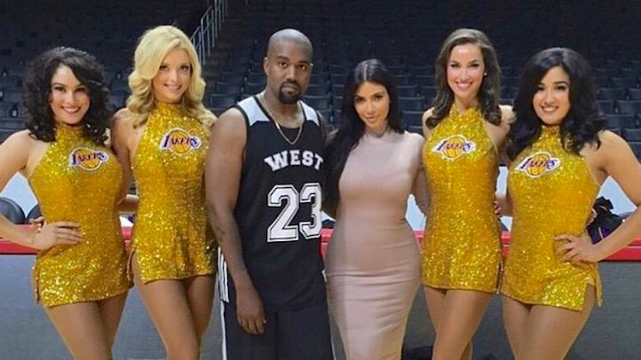 Kim Kanye Staples Birthday Party copy