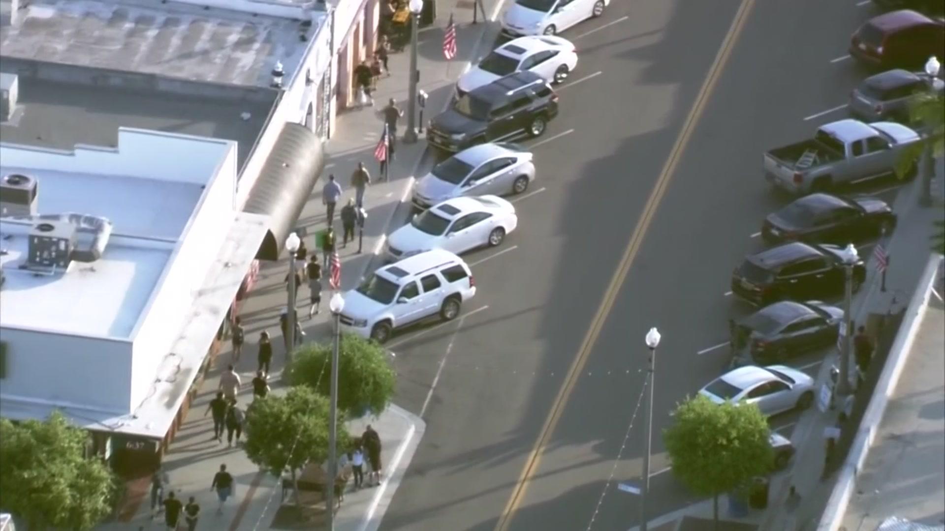 Protest at La Mesa PD Over Viral Arrest Video