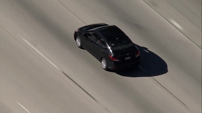 LAPD chase