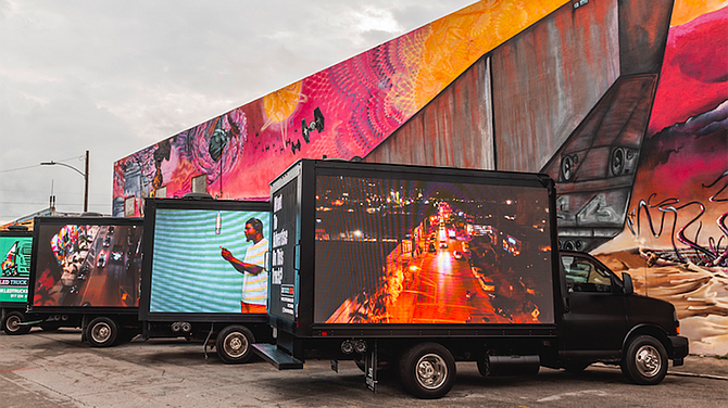 Mobile Billboard Company Moves Client Advertising to The Streets – NBC 7  San Diego