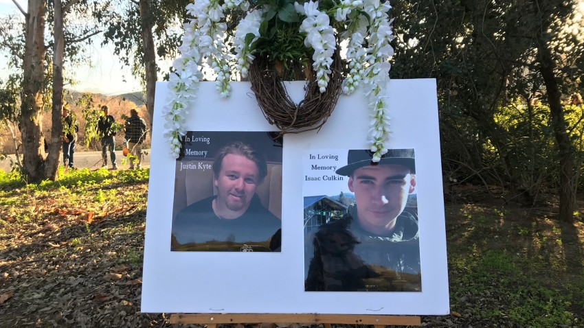 Vigil Held for Two Teens Killed in Lakeside Crash