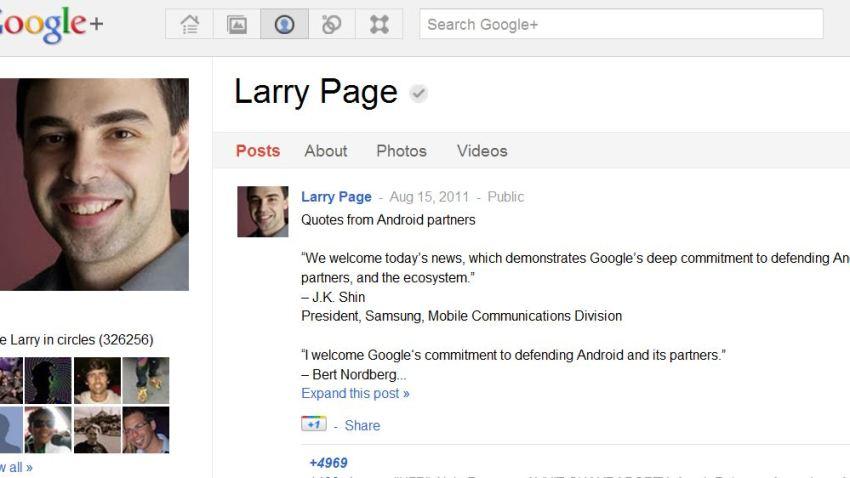 LarryPageGooglePlus