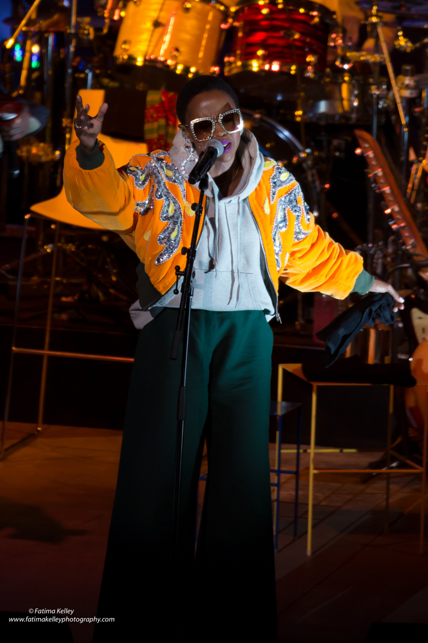 PICS: Ms. Lauryn Hill at Cal Coast Credit Union Open Air Theatre ...