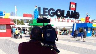 The entrance to Legoland California