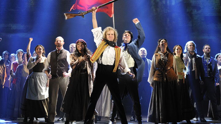 Les Miserables by Cameron Mackintosh, opening night November 28